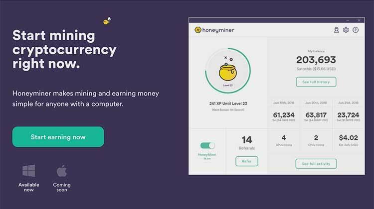 Honeyminer una nueva aplicación para minar bitcoins