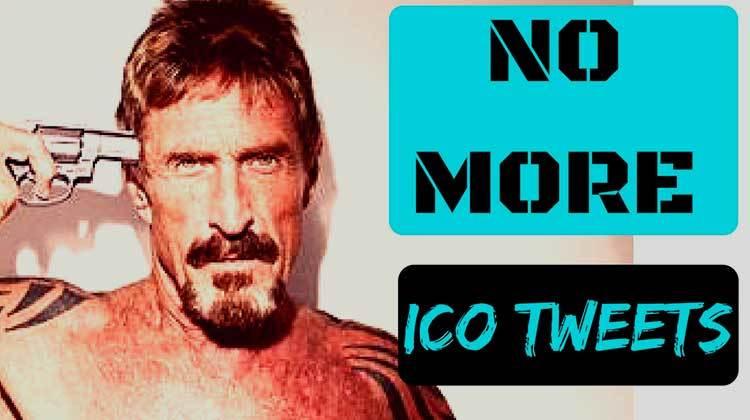 John McAfee dice que deja de promocionar ICO por amenazas de la SEC