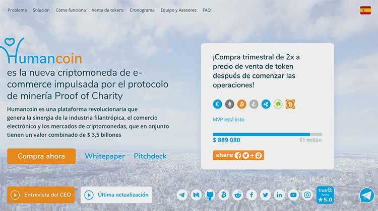 Review completa Humancoin
