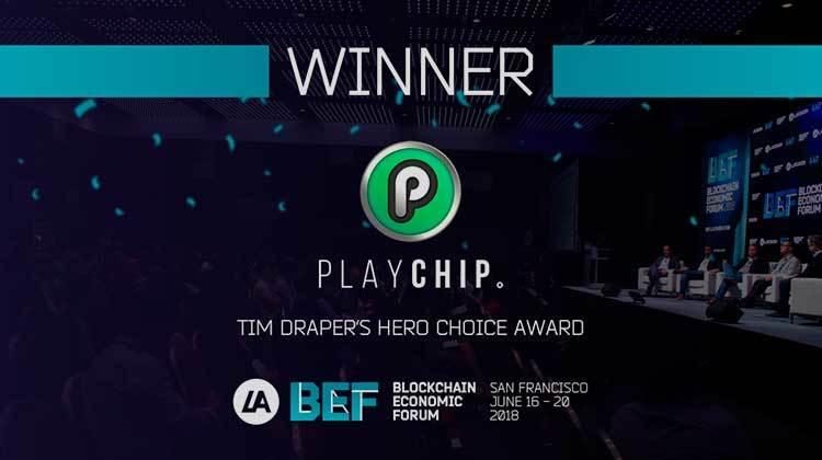 "Playchip ganadora del ""Draper Hero´s Choice"""