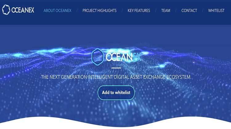 Review completa oceanex ICO